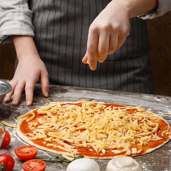 Industria de queijo mussarela